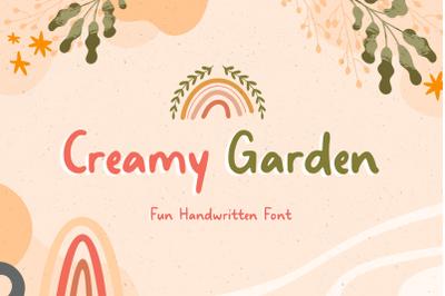 Creamy Garden