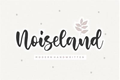 Noiseland Modern Handwritten Font