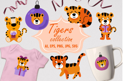 Tiger Collection SVG