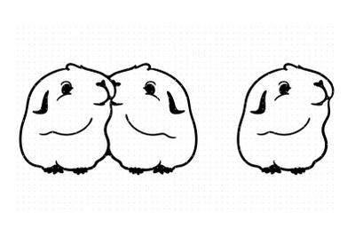 Guinea Pig SVG