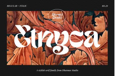 Etnyca - Stylish Serif Typeface