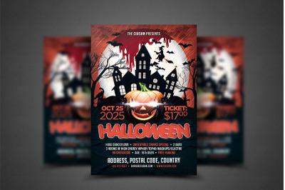 Halloween Flyer Template 4