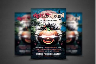 Halloween Flyer Template 5