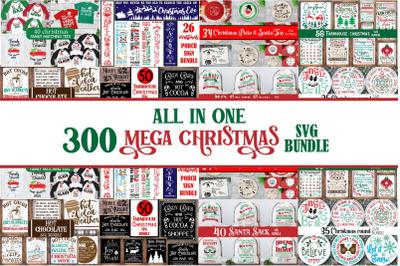 Mega Christmas Svg Bundle, Farmhouse Svg Farmhouse Christmas