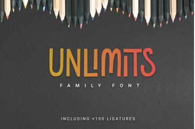 Unlimits Font Family