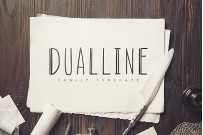 Dualline Typography