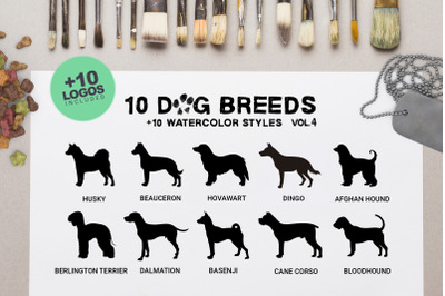 Dog Breeds Vol4 x10
