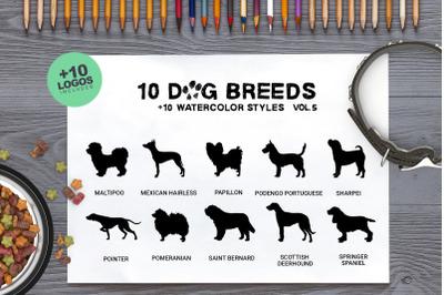 Dog Breeds Vol5 x10