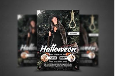 Halloween Flyer Template 6