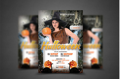 Halloween Flyer Template 8