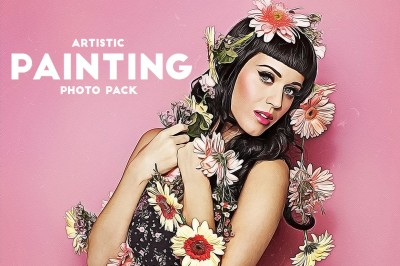 Artistic Painting Photo Pack