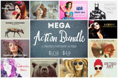 Mega Action Bundle - 75% OFF