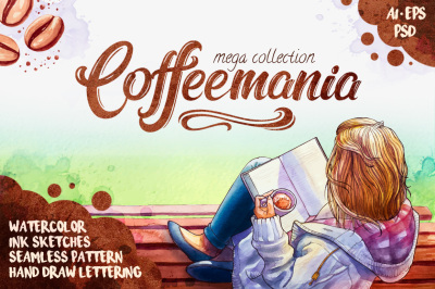 Coffee mania mega set