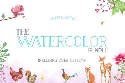 The FREE Watercolor Bundle