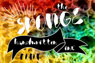 The sponge font