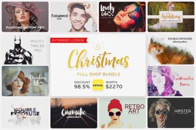 Christmas Full Shop Bundle (Save 99%)