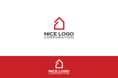 simple house logo