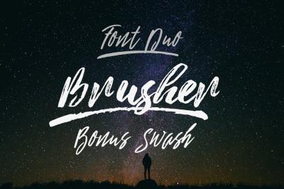 Brusher (fontduo)