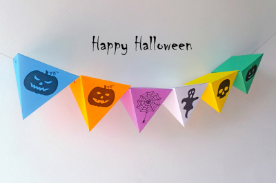 DIY Halloween bunting (Printable)