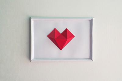 DIY Heart Frame (Printable)