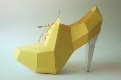 DIY High Heel Ankle Boot  (Printable)