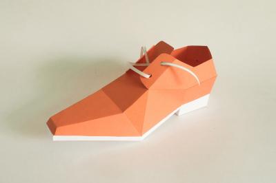 DIY Square Toe Shoe (Printable)