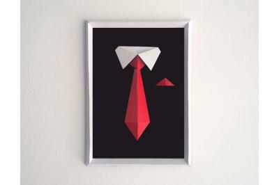 DIY Gentleman Frame (Printable)