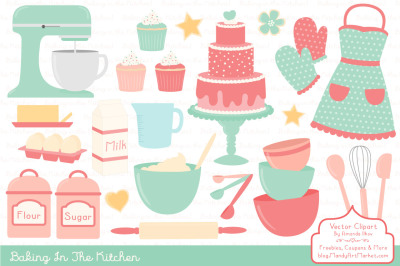 Professional Baking Clipart & Vectors