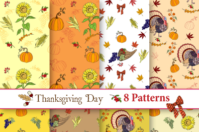 Thanksgiving Day Patterns
