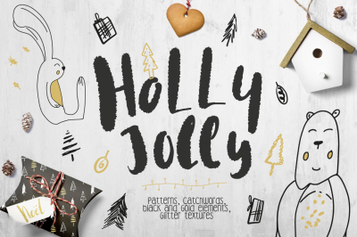 Holly Jolly Collection • Patterns