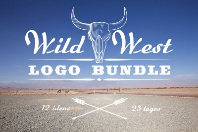 Wild West Logo Bundle
