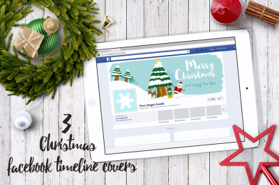Christmas Facebook Timeline Covers