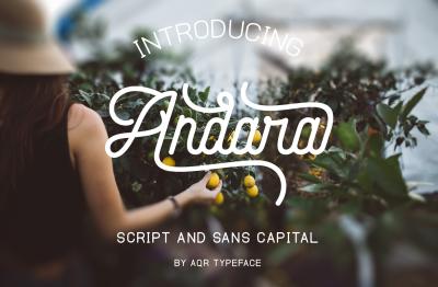 Andara Font Duo