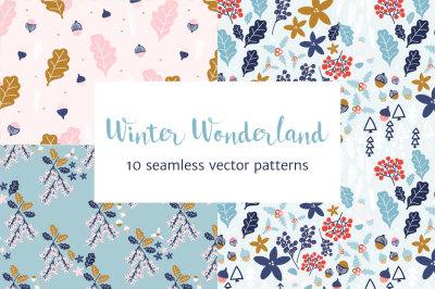 Winter Wonderland Christmas Patterns