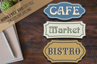Bistro Cafe Market Bundle
