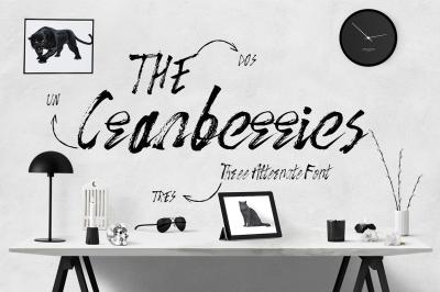 The Cranberries 3 Font