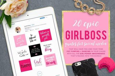 The Epic Girl Boss Instagram Bundle