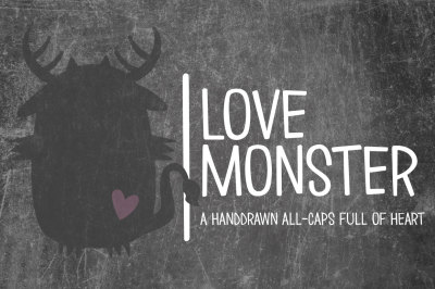 Love Monster Font