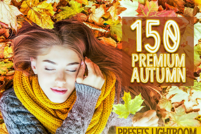 150 Premium Autumn Presets Lightroom (Presets for Lightroom 5,6,CC)