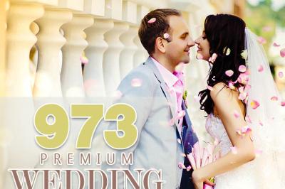 973 Premium Wedding Lightroom Presets Collection (Presets for Lightroom 5,6,CC)