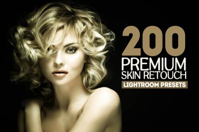 200 Premium Skin Retouch Lightroom Presets (Presets for Lightroom 5,6,CC)