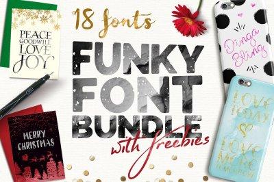 Funky Font Bundle