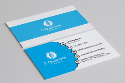 Modern Creative Business Card 1