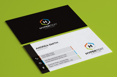 Modern Creative Business Card 2