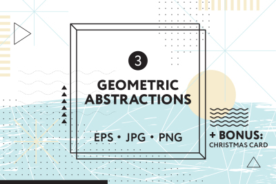 Geometric Abstractions Set