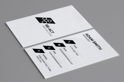 Minimal Business Card Template 6