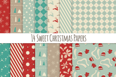 14 Sweet Christmas Papers