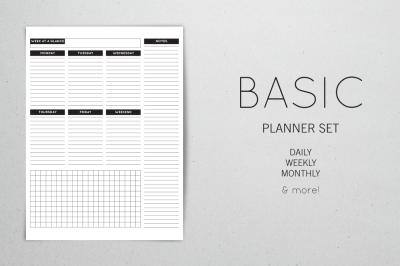 Planner Set - Basic