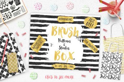 Brush Patterns & Strokes Box