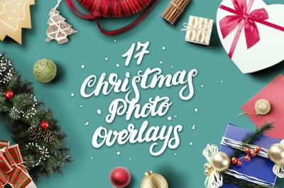 17 Christmas Wishes Photo Overlays